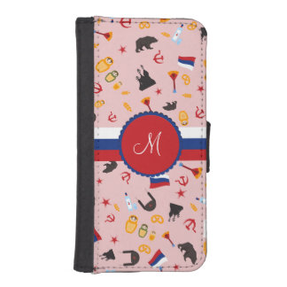 From Russia With Love- Russian pattern iPhone SE/5/5s Wallet Case