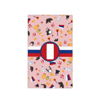 From Russia With Love- Russian pattern Light Switch Cover
