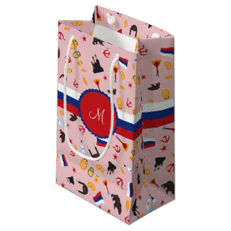 From Russia With Love- Russian pattern Small Gift Bag