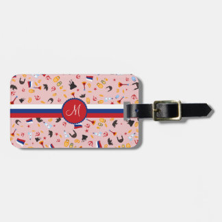 From Russia With Love- travel to Russia in Style Luggage Tag