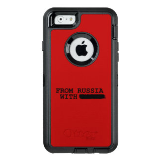 from russia with------- OtterBox defender iPhone case
