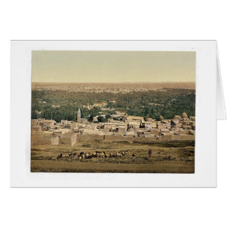 From Sallah, Damascus, Holy Land, (i.e. Syria) cla Card