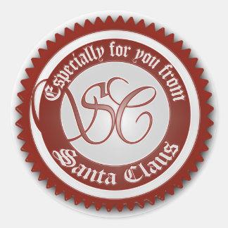 from santa claus sticker - From Santa