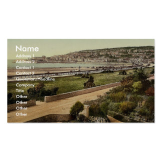 From south, Weston-super-Mare, England classic Pho Business Card
