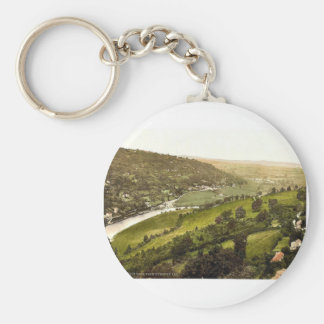 From Symonds Yat, Whitchurch, England classic Phot Key Chains