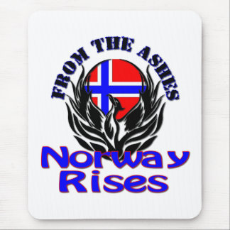 From the Ashes Norway Rises Mouse Pad