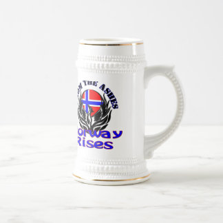 From the Ashes Norway Rises Coffee Mug