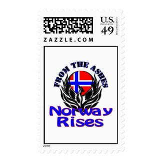 From the Ashes Norway Rises Postage Stamps
