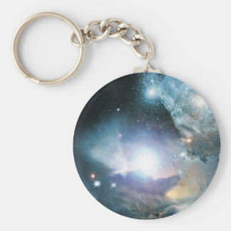 From the Ashes of the First Stars Basic Round Button Keychain