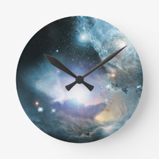 From the Ashes of the First Stars Wall Clocks