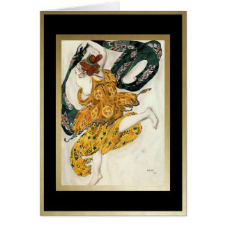 """From the ballet """"Narcissus"""", for Ballet Russes Greeting Card"""