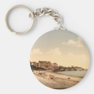 From the beach Biarritz Pyrenees France Key Chain