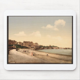 From the beach, Biarritz, Pyrenees, France Mouse Pad