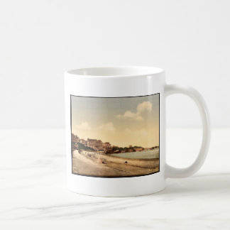 From the beach, Biarritz, Pyrenees, France vintage Mug