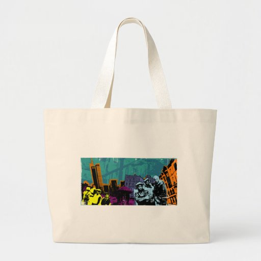 From the Bronx to Manhattan Jumbo Tote Bag