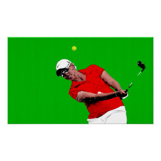From The Bunker - Golf Art On Canvas Print