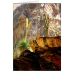 From the Canyons Shadows Stationery Note Card