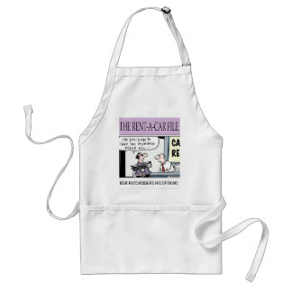 from the Car Rental company Aprons