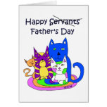 From The Cats Father's Day Card Greeting Cards