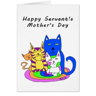 From The Cats Mother's Day Card