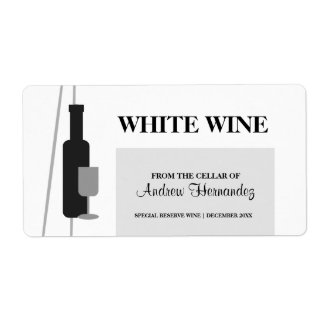 From the Cellar of Wine Custom Shipping Labels