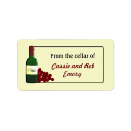 From the Cellar of Wine Labels