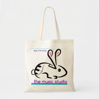 From the Clara line of The Music Studio Products Tote Bag