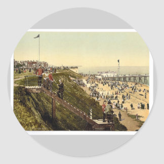 From the cliffs Clacton-on-Sea England vintage P Stickers