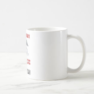 From the Collection of Lucia Mann Classic White Coffee Mug