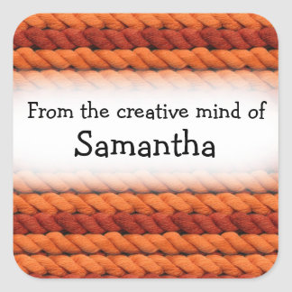From the creative mind of yarn custom stickers