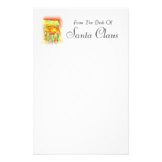 From The Desk Of Santa Claus Stationary Letter to santa stationery ...