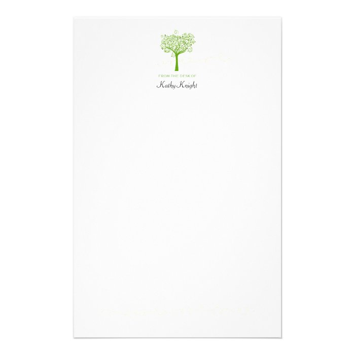 From the desk of stationery template zazzle