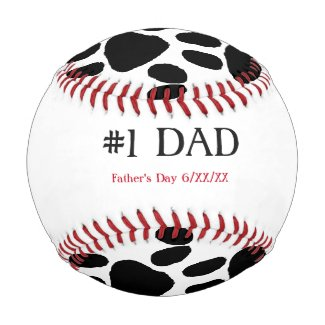 From The Dog Black & White #1 Dad Baseball
