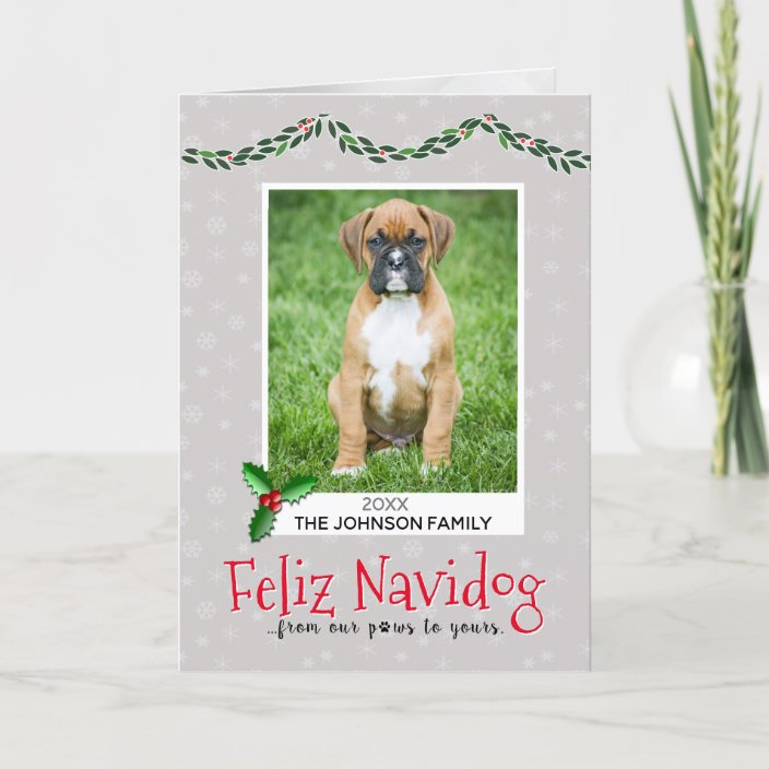 From The Dog Christmas Cards Pet