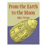 From the Earth to the Moon - Jules Verne Post Card