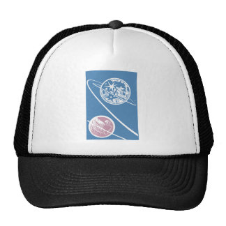From the Earth to the Moon Mesh Hats