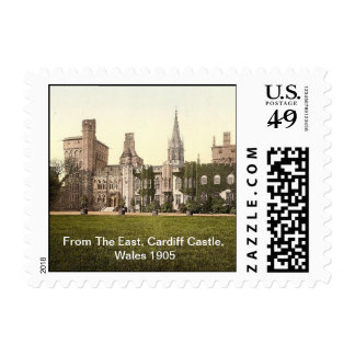 From The East, Cardiff Castle, Wales 1905 Postage