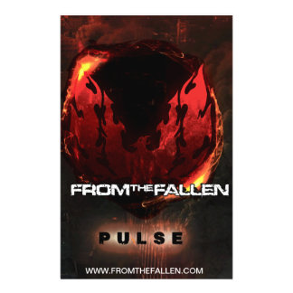From the Fallen - Pulse Logo Poster Flyer