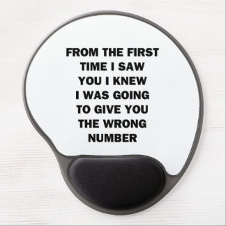 From The First Time I Saw You Gel Mouse Pad