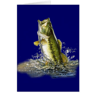 From the FreshWater Collection by FishTs.com Greeting Card