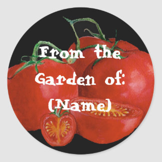 From the Garden of Classic Round Sticker