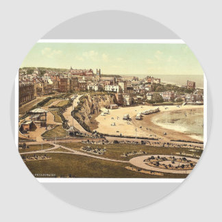 From the gardens, Broadstairs, England vintage Pho Stickers