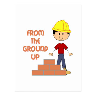 FROM THE GROUND UP POSTCARD