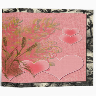 From The Heart 3 Ring Binder