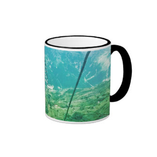 From the infinite. taza de dos colores