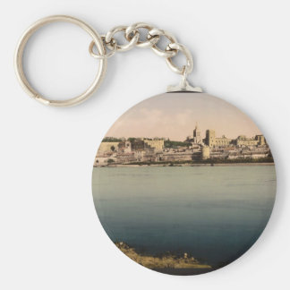 From the Isle de Barthalasse, (i.e., Ile de la Bar Basic Round Button Keychain