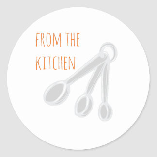 From the Kitchen Classic Round Sticker