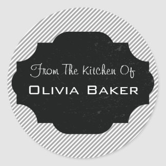 From The Kitchen Of - Baked Goodies Classic Round Sticker