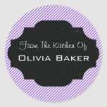 From The Kitchen Of - Baked Goodies Round Sticker