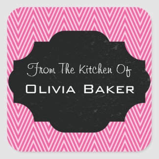 From The Kitchen Of - Baked Goodies Square Sticker